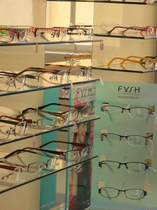 תצוגה משקפיים במישקה